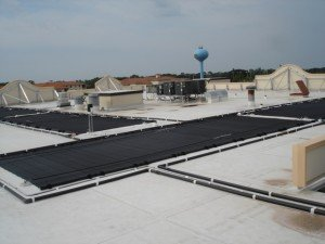 commercial solar hot water heater