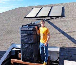 Residential Solar Hot Water Heater